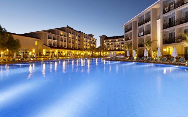 Paloma Oceana Resort Турция, Сиде - 1 отзыв об отеле, цены и фото номеров - забронировать отель Paloma Oceana Resort онлайн вид на фасад
