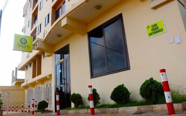 Отель Angels Heights Hotel Гана, Тема - отзывы, цены и фото номеров - забронировать отель Angels Heights Hotel онлайн вид на фасад