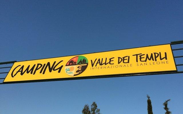 Отель Camping Valle Dei Templi Агридженто вид на фасад