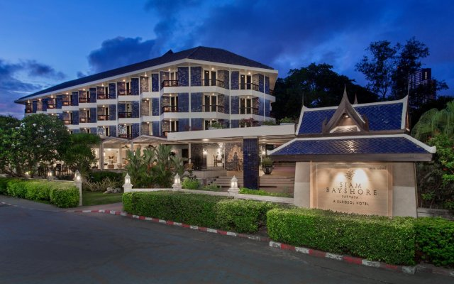 Отель Siam Bayshore Resort Pattaya вид на фасад