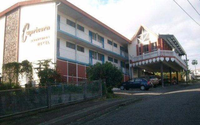 Отель Capricorn Apartment Hotel Suva Фиджи, Вити-Леву - отзывы, цены и фото номеров - забронировать отель Capricorn Apartment Hotel Suva онлайн вид на фасад