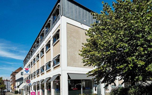 CABINN Express Hotel Фредериксберг вид на фасад