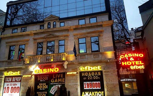 Efbet Hotel вид на фасад