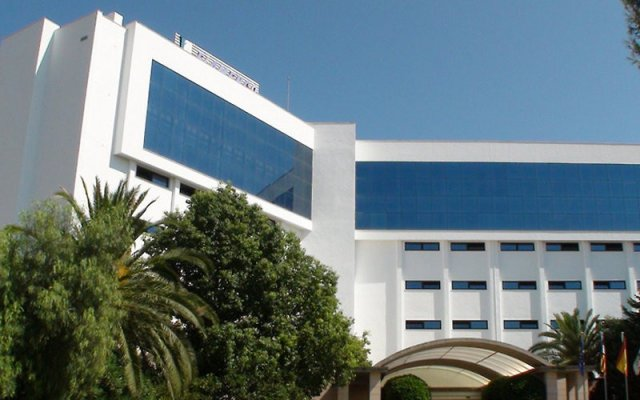 Отель Hipotels Flamenco вид на фасад