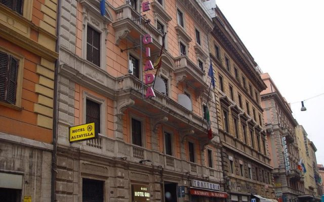 Отель Giada вид на фасад