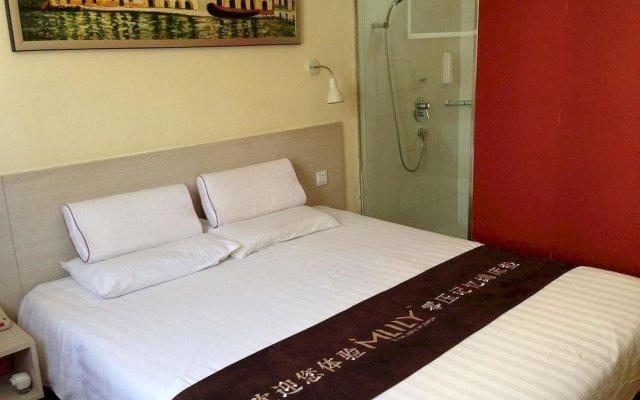 Отель Hanting Hotel Китай, Пекин - отзывы, цены и фото номеров - забронировать отель Hanting Hotel онлайн вид на фасад