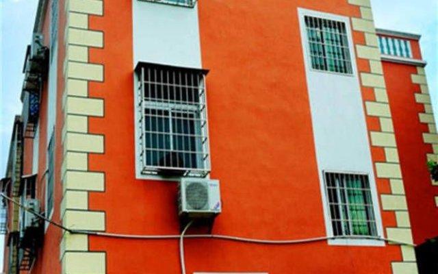Апартаменты Happiness Apartment Сямынь вид на фасад