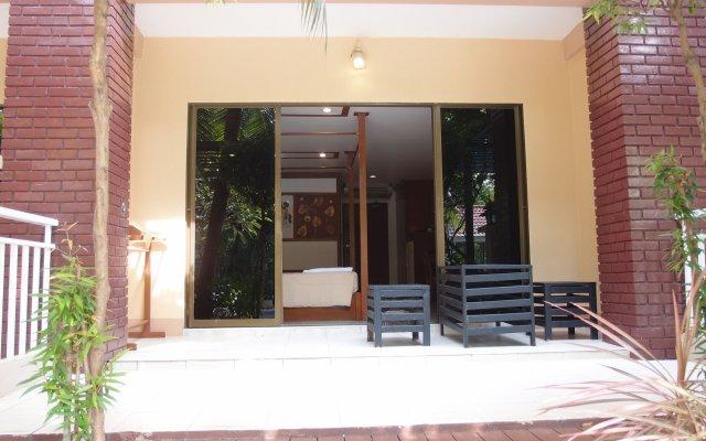 Отель Blue Garden Resort Pattaya вид на фасад