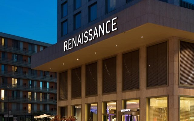 Renaissance Zurich Tower Hotel вид на фасад