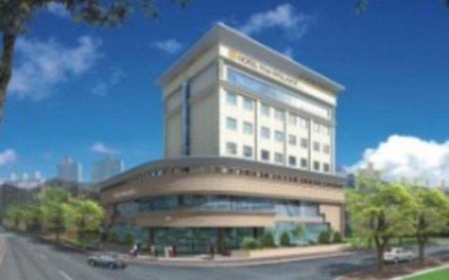 Отель The Palace Daegu Южная Корея, Тэгу - отзывы, цены и фото номеров - забронировать отель The Palace Daegu онлайн вид на фасад
