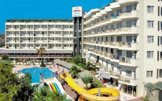 Asrin Beach Hotel Турция, Аланья - отзывы, цены и фото номеров - забронировать отель Asrin Beach Hotel - All Inclusive онлайн вид на фасад