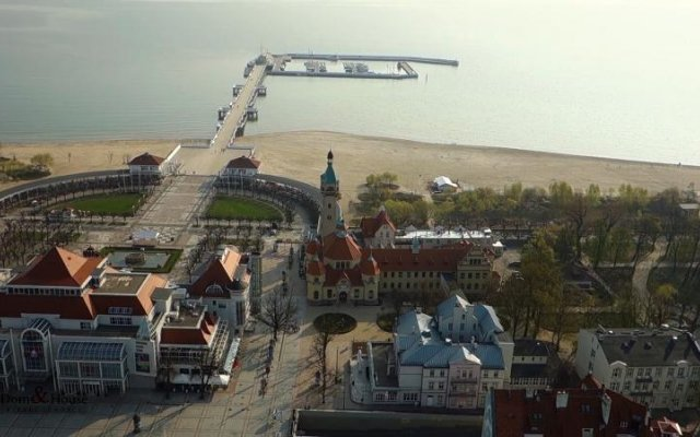 Апартаменты Dom & House - Apartments Helska Sopot Сопот пляж
