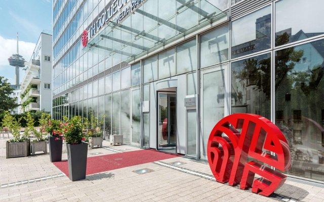 Отель NH Collection Köln Mediapark Германия, Кёльн - 3 отзыва об отеле, цены и фото номеров - забронировать отель NH Collection Köln Mediapark онлайн вид на фасад
