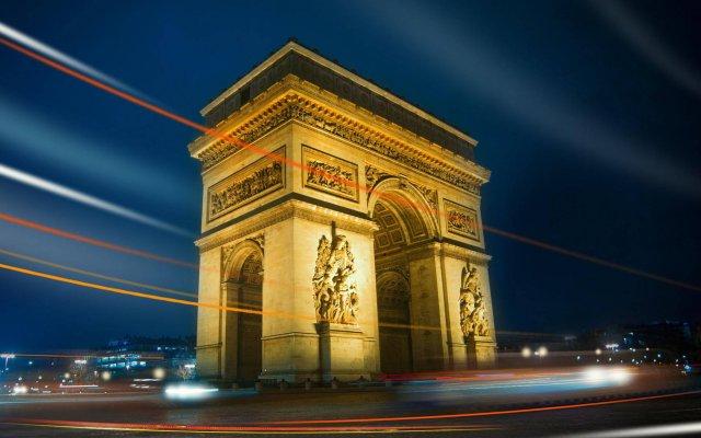 Отель Kleber Champs-Élysées Tour-Eiffel Paris вид на фасад