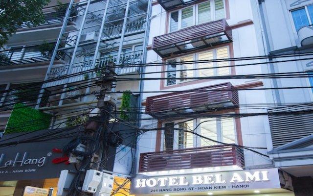 Hotel Bel Ami Hanoi вид на фасад