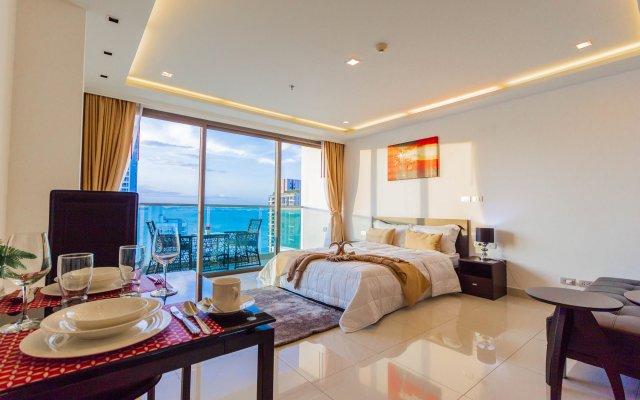 Отель Wongamat Tower by Pattaya Sunny Rentals Паттайя комната для гостей