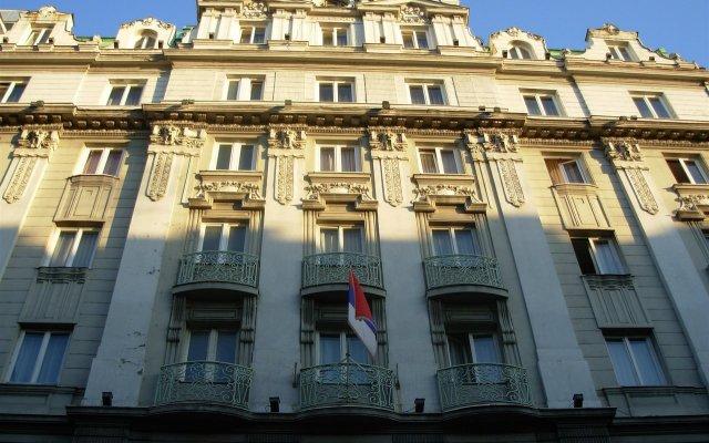 Palace Hotel вид на фасад