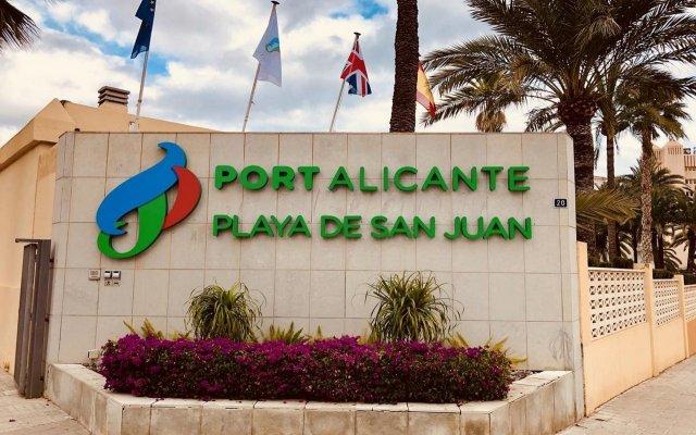 Hotel Port Alicante вид на фасад