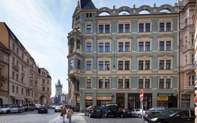 Отель Old Town - Dusni Apartments Чехия, Прага - отзывы, цены и фото номеров - забронировать отель Old Town - Dusni Apartments онлайн вид на фасад