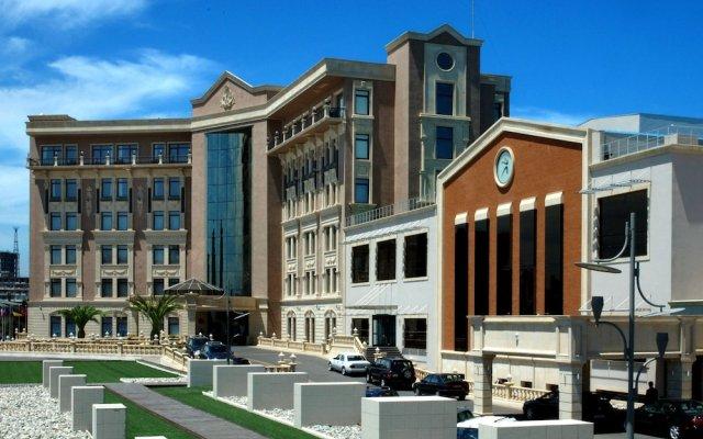Отель Excelsior Hotel & Spa Baku Азербайджан, Баку - 7 отзывов об отеле, цены и фото номеров - забронировать отель Excelsior Hotel & Spa Baku онлайн вид на фасад