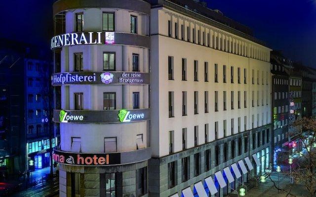 anna hotel вид на фасад