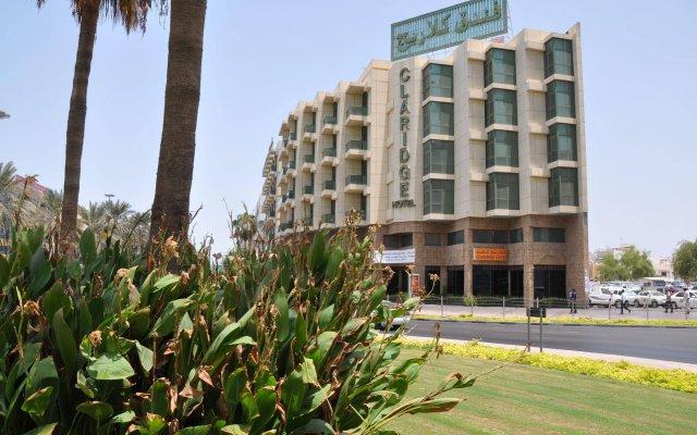 Claridge Hotel Dubai Дубай вид на фасад