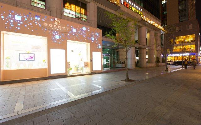 SH Seoul Hostel вид на фасад