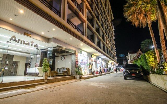Отель Amata Patong вид на фасад