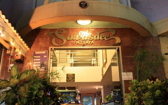 Отель Sawasdee Pattaya Паттайя вид на фасад