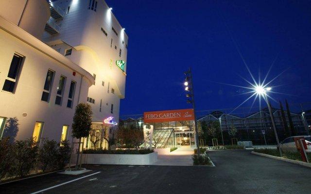 Отель EKK Hotel Италия, Ситта-Сант-Анджело - отзывы, цены и фото номеров - забронировать отель EKK Hotel онлайн вид на фасад