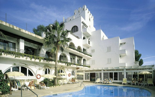 Hotel Bon Sol вид на фасад