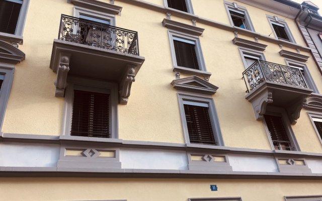 Отель INSIDE FIVE City Apartments Швейцария, Цюрих - отзывы, цены и фото номеров - забронировать отель INSIDE FIVE City Apartments онлайн вид на фасад