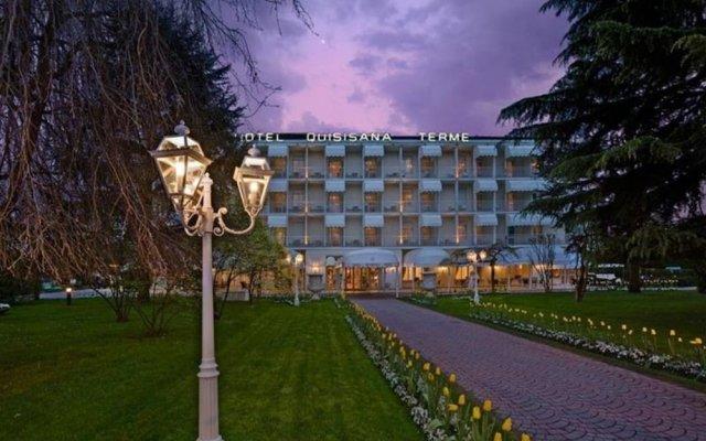 Отель Quisisana Terme Италия, Абано-Терме - отзывы, цены и фото номеров - забронировать отель Quisisana Terme онлайн вид на фасад