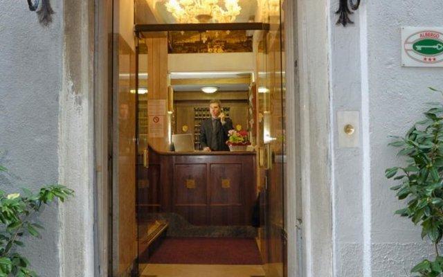 Отель Albergo Basilea Венеция вид на фасад