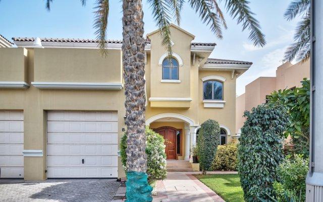 Отель Dream Inn Dubai - Royal Palm Beach Villa ОАЭ, Дубай - отзывы, цены и фото номеров - забронировать отель Dream Inn Dubai - Royal Palm Beach Villa онлайн вид на фасад
