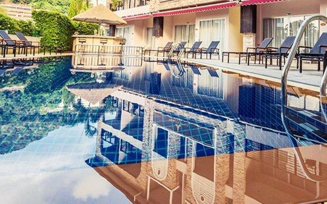 Отель The Orchid House пляж Ката вид на фасад