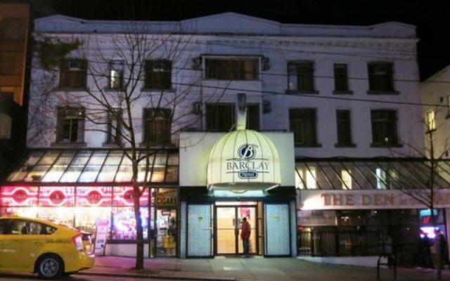 Отель Barclay Hotel Канада, Ванкувер - отзывы, цены и фото номеров - забронировать отель Barclay Hotel онлайн вид на фасад