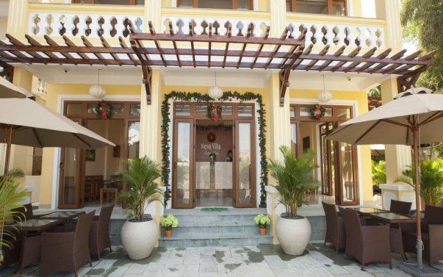Отель Nova Villa Hoi An Вьетнам, Хойан - отзывы, цены и фото номеров - забронировать отель Nova Villa Hoi An онлайн вид на фасад