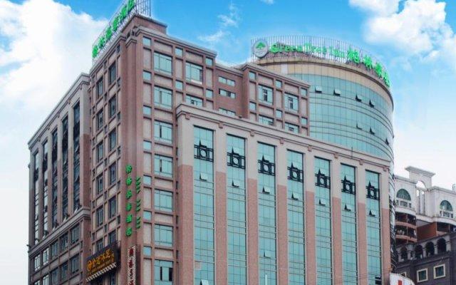 GreenTree Inn DongGuan HouJie wanda Plaza Hotel вид на фасад
