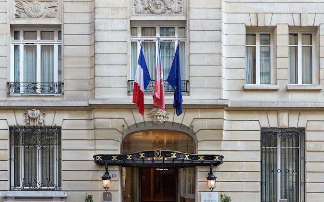 Отель Majestic Apartments Champs Elysées Франция, Париж - отзывы, цены и фото номеров - забронировать отель Majestic Apartments Champs Elysées онлайн вид на фасад
