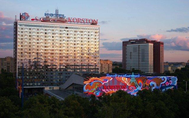 Гостиница Корстон, Москва вид на фасад