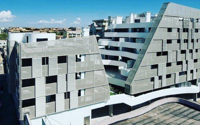 Апартаменты ART Apartment Roma вид на фасад