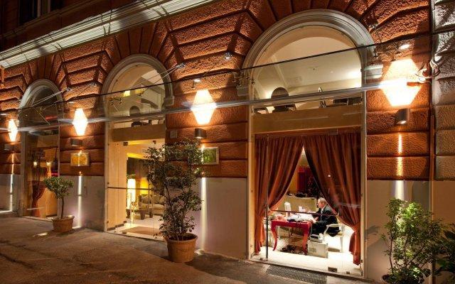 Отель c-hotels Fiume вид на фасад