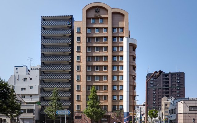 Отель Eclair Hakata Фукуока вид на фасад