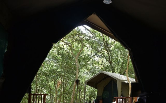 Отель Mahoora Tented Safari Camp - Kumana Шри-Ланка, Яла - отзывы, цены и фото номеров - забронировать отель Mahoora Tented Safari Camp - Kumana онлайн вид на фасад