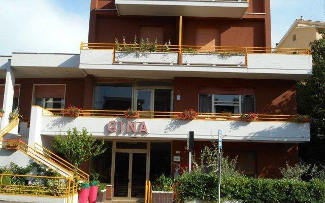 Отель Villa Gina Кьянчиано Терме вид на фасад