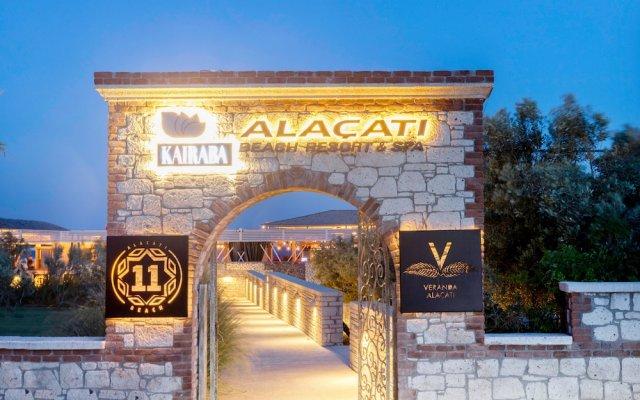 Отель Kairaba Alacati Beach Resort Чешме вид на фасад