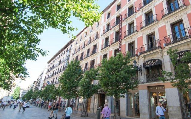 Отель Petit Palace Arenal Испания, Мадрид - 1 отзыв об отеле, цены и фото номеров - забронировать отель Petit Palace Arenal онлайн вид на фасад
