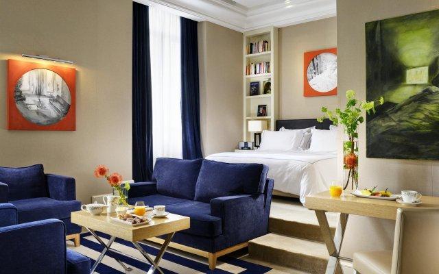 The First Luxury Art Hotel Roma комната для гостей