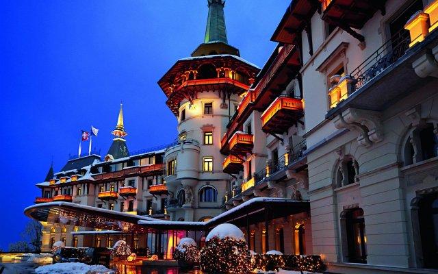 Отель The Dolder Grand вид на фасад